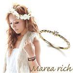 Marea rich(マレアリッチ) K10 シンプルダイヤリング ゴールド×ダイヤモンド 10号 10KJ-09