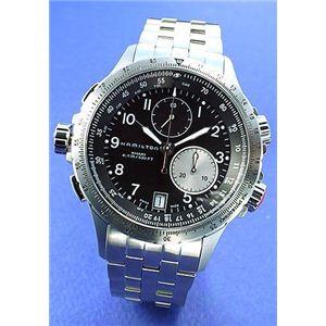 HAMILTON(ハミルトン) 腕時計 Khaki E.T.O(カーキE.TO) メンズブレス H77612133 - 拡大画像
