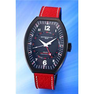 モントレス デ ラックス 腕時計 ESTREMO EX9503 ホワイトナンバー - 拡大画像