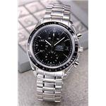 OMEGA(オメガ) 腕時計 スピードマスター デイト ブラック 3210-50