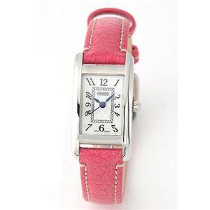 Coach(コーチ) レディス 腕時計 Lexington (レキシントン・ミニ) レザーストラップ・ウオッチ 14501076 - 拡大画像