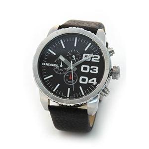 DIESEL(ディーゼル) メンズ腕時計 モテ系ブラック・フェイス クロノグラフ・ウオッチ【ブラック系】 DZ4208 - 拡大画像