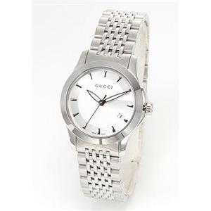 Gucci(グッチ) レディス 腕時計 クラシック ブレスウオッチ YA126501 - 拡大画像