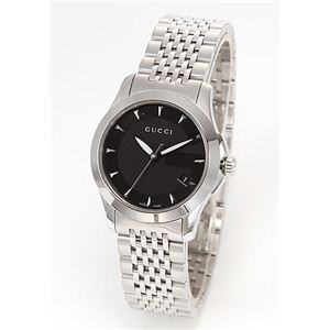 Gucci(グッチ) レディス 腕時計 クラシック ブレスウオッチ YA126502 - 拡大画像