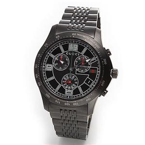 Gucci(グッチ) 腕時計 クラシック・クロノグラフ メンズ・ブレスウオッチ YA126217 - 拡大画像