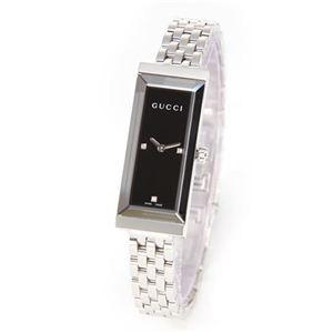Gucci(グッチ) レディス 腕時計 G-Frame(Gフレーム)コレクション ミラー加工&3ポイントダイヤの文字盤でまばゆい輝き YA127504 - 拡大画像