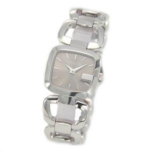 Gucci(グッチ) G-GUCCI コレクション Gのイニシャルがモチーフ。ラグジュアリーなレディス・ブレスウオッチ 【腕時計】 YA125507 - 拡大画像