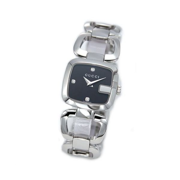 男前 時計 通販|  Gucci(グッチ) G-GUCCI コレクション Gのイニシャルがモチーフのシェルとダイヤをあしらったラグジュアリーなレディス・ブレスウオッチ 【腕時計】 YA125509