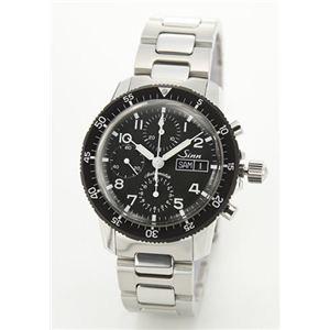 ジン メンズ 腕時計 クロノグラフ SSメタル オートマチック 103.B.AUTO - 拡大画像