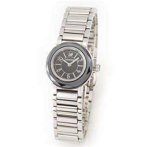 Swarovski(スワロフスキー) レディス 腕時計 Octea Mini(オクティア・ミニ)・ジュエリーウォッチ スワロフスキー・ジェットヘマタイト・クリスタル・キラキラ・ウオッチ 999969 - 拡大画像