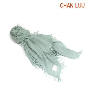 CHAN LUU(チャンルー) カシミア&シルクスカーフ マフラー 大判ストール マフラー リチェン ミントグリーン系 BRH-SC-140/Lichen - 拡大画像