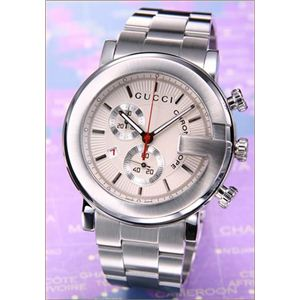 Gucci(グッチ) 腕時計 「G-クロノ」 SS/シルバー YA101339 - 拡大画像