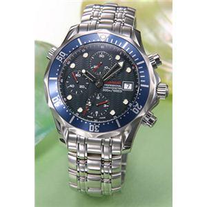 OMEGA(オメガ) 腕時計 シーマスター300 クロノグラフ 2225-80 - 拡大画像