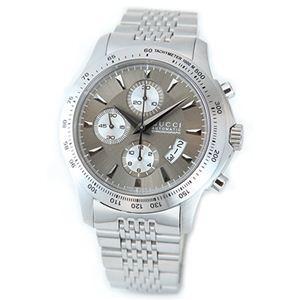 Gucci(グッチ) メンズ 腕時計 G-タイムレスコレクション(エクストララージバージョン)オートマティック・メンズ・クロノグラフ YA126213 - 拡大画像