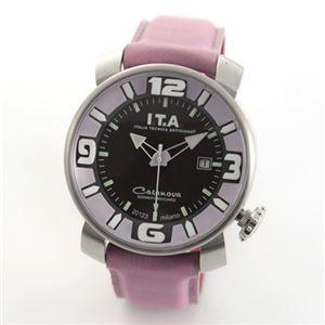 アイ・ティー・エー Casanova CLASSIC (カサノバ クラシック) しっとりした配色とデザイン、メンズ・自動巻き・腕時計 00.12.14 00.12.14 GREY - 拡大画像