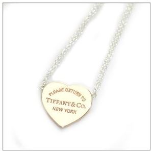 Tiffany(ティファニー) RTT ハート ペンダント スモール 16in SS/RUBEDO 29633738 h02