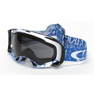 OAKLEY(オークリー) ゴーグル 59-153 SPLICE Tagline Utility Blue Fire Iridium - 拡大画像