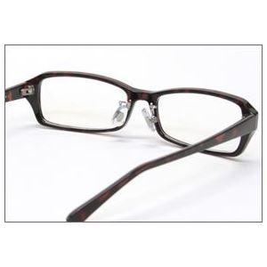 ブルーライトをカットして貴方の目を守る 軽量素材のPCメガネ アイキーパーPC (クリアレンズ) EK-009 C-12 ベッコウ h03