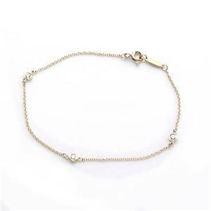 Tiffany(ティファニー) ダイヤモンド バイ ザ ヤード ブレスレット 7in 18Y 10769019 - 拡大画像