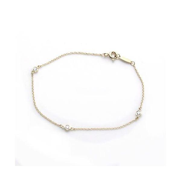 Tiffany(ティファニー) ダイヤモンド バイ ザ ヤード ブレスレット 7in 18Y 10769019f00