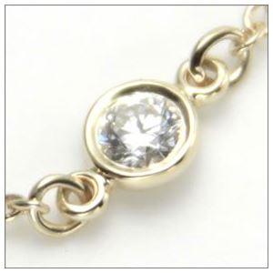 Tiffany(ティファニー) ダイヤモンド バイ ザ ヤード ブレスレット 7in 18Y 10769019 h02