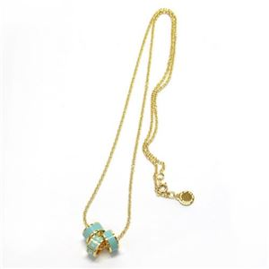 MARC BY MARC JACOBS(マークバイマークジェイコブス) Sweetie Rings Necklace マークロゴの入った3つのリングが可愛いネックレス ≪2014SS≫ M0002760-314