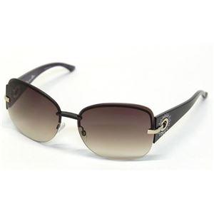Christian Dior(クリスチャン ディオール) サングラス DIORPRECIEUSEF KGH QX ブラック パープル ブラウングラデーション