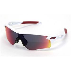 OAKLEY(オークリー) サングラス OO9206-10 RADARLOCK PATH ポリッシュドホワイト Positive Red Iridium アジアンフィット h01