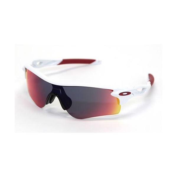 OAKLEY(オークリー) サングラス OO9206-10 RADARLOCK PATH ポリッシュドホワイト Positive Red Iridium アジアンフィットf00