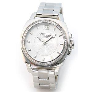 【レディス腕時計】Coach(コーチ) 文字盤周りにキラキラストーン、ブレスウオッチ 14501307