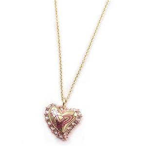 Vivienne Westwood(ヴィヴィアンウエストウッド) ジータ バレンタイン ペンダント・ゴールド BP482-4画像