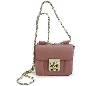 Chloe(クロエ) ELSIE Mini chain bag エルシー ターンロック金具 チェーン ミニ・ショルダーバッグ クロスボディ 3S0817 835 B5C DARLINGTON PINK - 拡大画像