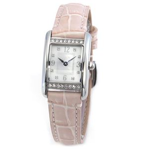 【レディス腕時計】Coach(コーチ) ダイヤルにはシェルの輝きとラインストーン☆ラインストーンをまとったラグジュアリーなレディス・レザーストラップ・ウオッチ 14501897