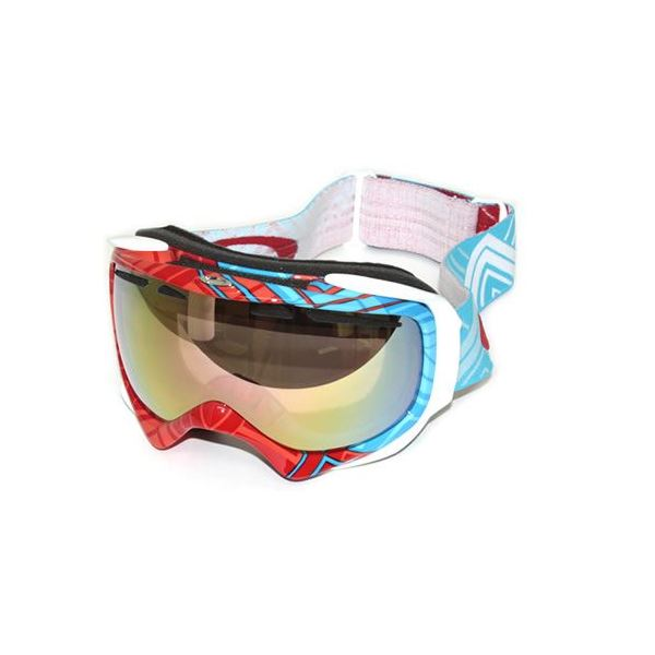 OAKLEY(オークリー) ゴーグル 59-617 ELEVATE Braided Blue Red VR50 Pink Iridiumf00