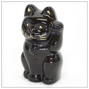 Baccarat(バカラ) LUCKY CAT 表情が可愛い 日本生まれのラッキーモチーフ 「招き猫」(ミッドナイト) 2607787