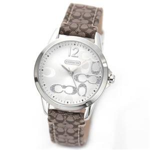 【レディス腕時計】Coach(コーチ) ラインストーンのシグネチャーダイヤルが可愛い 人気の女子ウオッチ 14501620