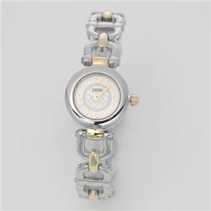 【レディス腕時計】Coach(コーチ) 小振りなラウンドフェイスにシグネチャーダイヤル。ビットモチーフブレスレットのレディスブレスウオッチ。 14501852