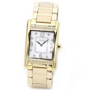 【レディス腕時計】Coach(コーチ) ダイヤルにはシェルの輝きとラインストーン ラインストーンをまとったラグジュアリーなレディス・ブレスウオッチ 14501817
