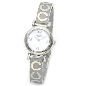 【レディス腕時計】Coach(コーチ) 大人カジュアルで上品なキレカワ・バングルウオッチ 14501687