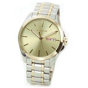 【レディス腕時計】Coach(コーチ) 大人カジュアルで上品なブレスウオッチ 見やすい大きめサイズ。お仕事女子にお勧めなサイズです 14501912