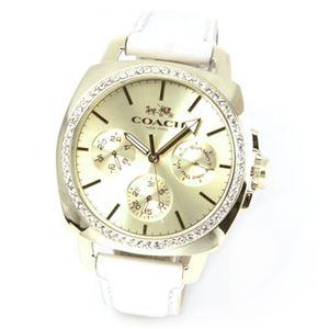 【レディス腕時計】Coach(コーチ) 大人カジュアルで上品なマルチカレンダー仕様のキレカワ・レディス腕時計 14502084