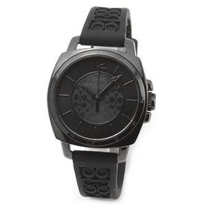 【レディス腕時計】Coach(コーチ) シグネチャーパターンのラバーストラップがキュート。大人カジュアルなキレカワ・レディス腕時計 14502096