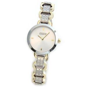 【レディス腕時計】Coach(コーチ) シグネチャーパターンのブレスがキュート。大人カジュアルなキレカワ・レディス腕時計 14501847
