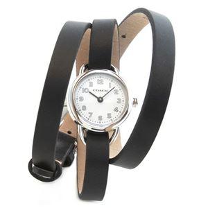 【レディス腕時計】Coach(コーチ) 3 ラップ・ストラップ。小ぶりでフェミニンなレディス腕時計 14501982