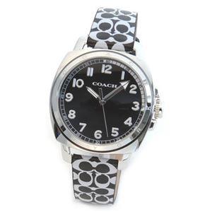 【レディス腕時計】Coach(コーチ) シグネチャーパターンのストラップがキュート。大人カジュアルなキレカワ・レディス腕時計 14502000