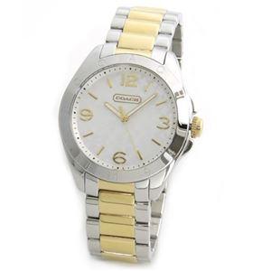 【レディス腕時計】Coach(コーチ) シグネチャーパターンダイヤル。大人カジュアルで上品なキレカワ・レディス腕時計 14501787