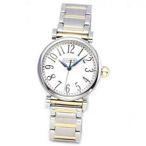 【レディス腕時計】Coach(コーチ) ミドルサイズで見やすい大きさ。 シンプルで品のあるルックス。お仕事ウオッチにもカジュアルにもお薦め. 14501722