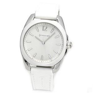 【レディス腕時計】Coach(コーチ) ミドルサイズで見やすい大きさ 使いまわしやすいラバーストラップ。 14501915