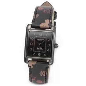 【レディス腕時計】Coach(コーチ) フラワープリントのストラップがキュートな大人カジュアル・レディス腕時計 14502013