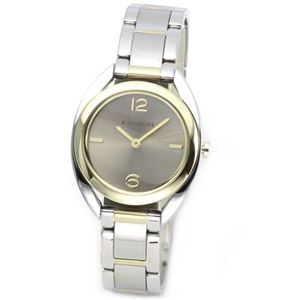 【レディス腕時計】Coach(コーチ) 柔らかな印象のフォルム 上品な大人カジュアル・レディス腕時計 14502025